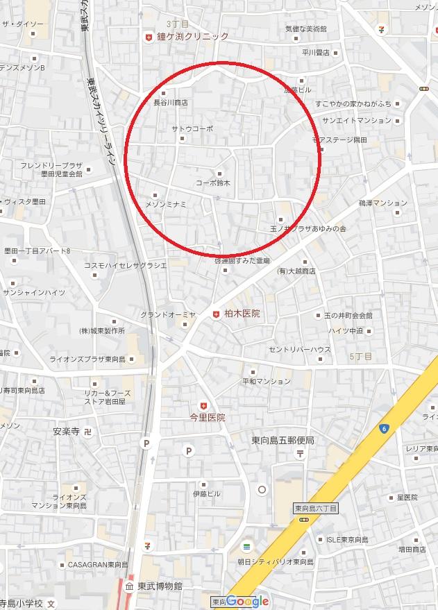 鳩の街マップ