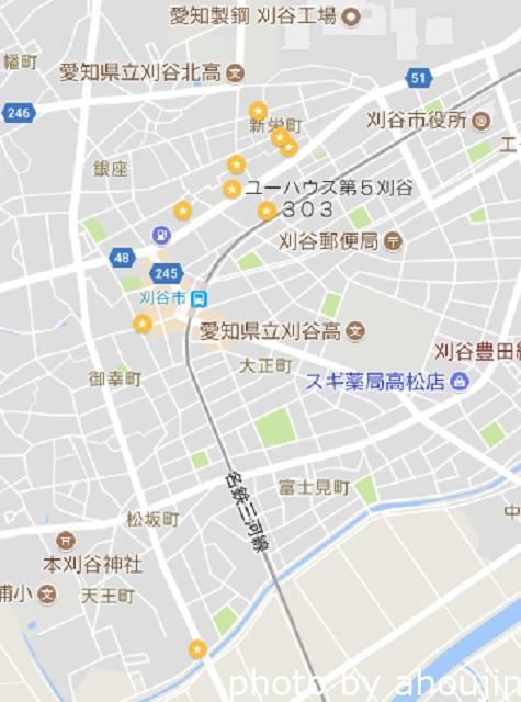 亀豊園マップ