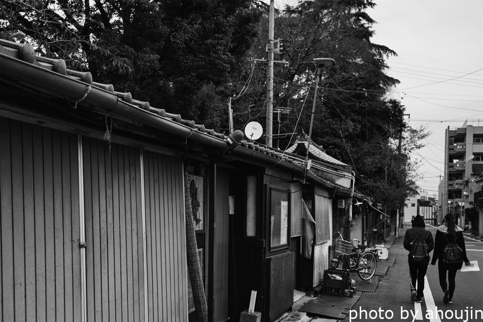 松栄新町への道