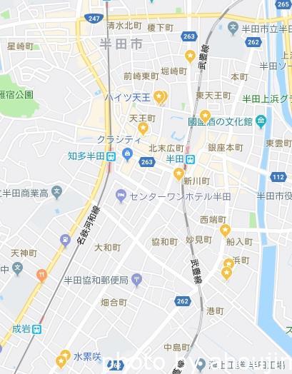 清娯園マップ