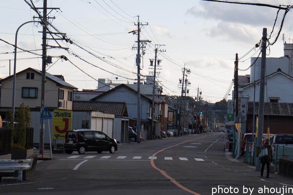 春日井市道風荘赤線跡