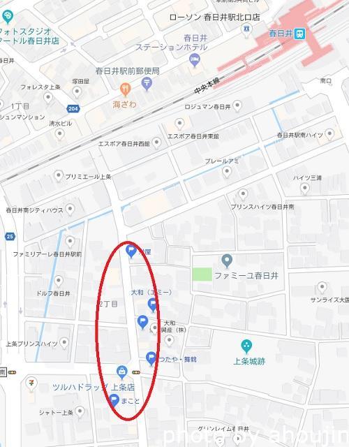 道風荘マップ