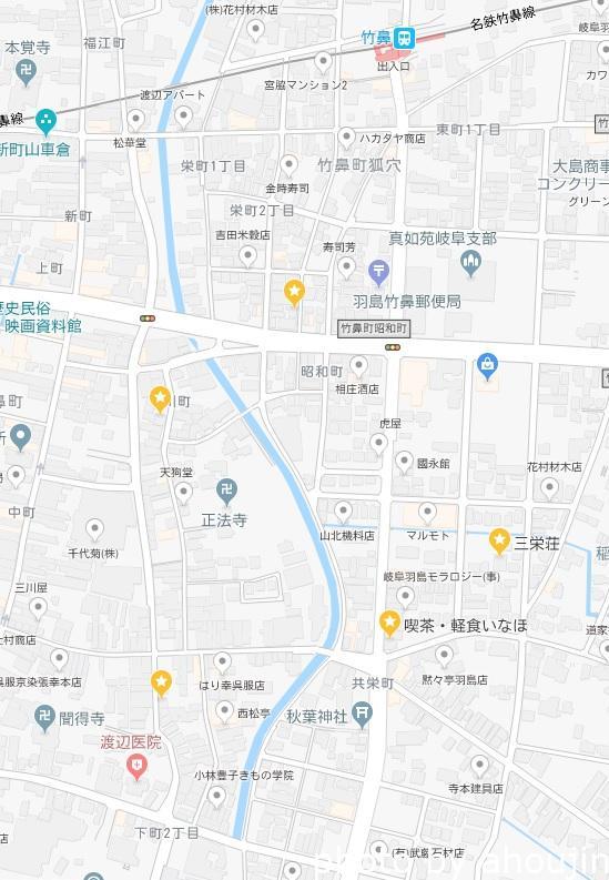 共楽園マップ