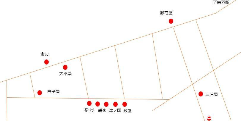 鳥羽赤線マップ